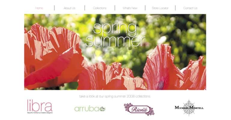 Libra Clothing Website