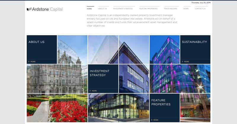 ardstone.com Website