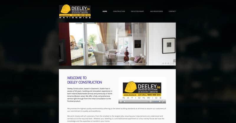 deeley.ie Website