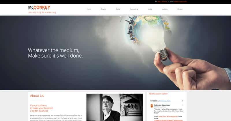mcconkey.media Website
