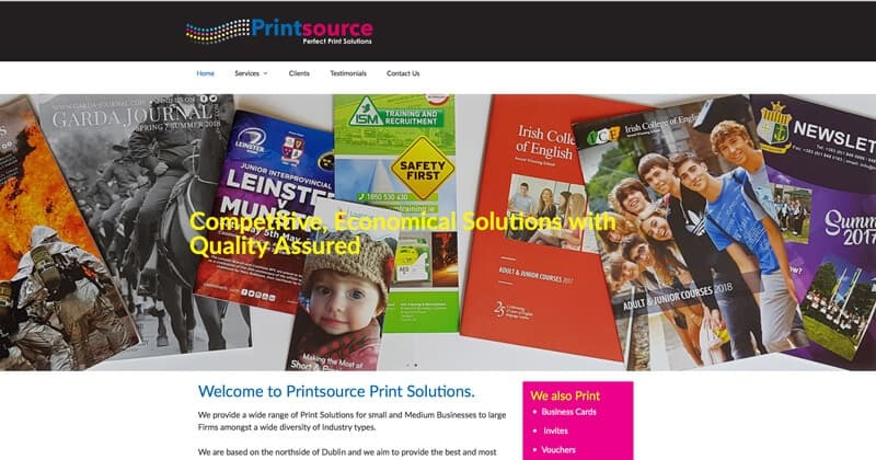 Printsource Solutions Site