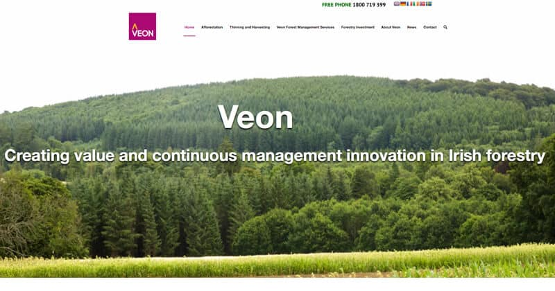 Veon Site Project