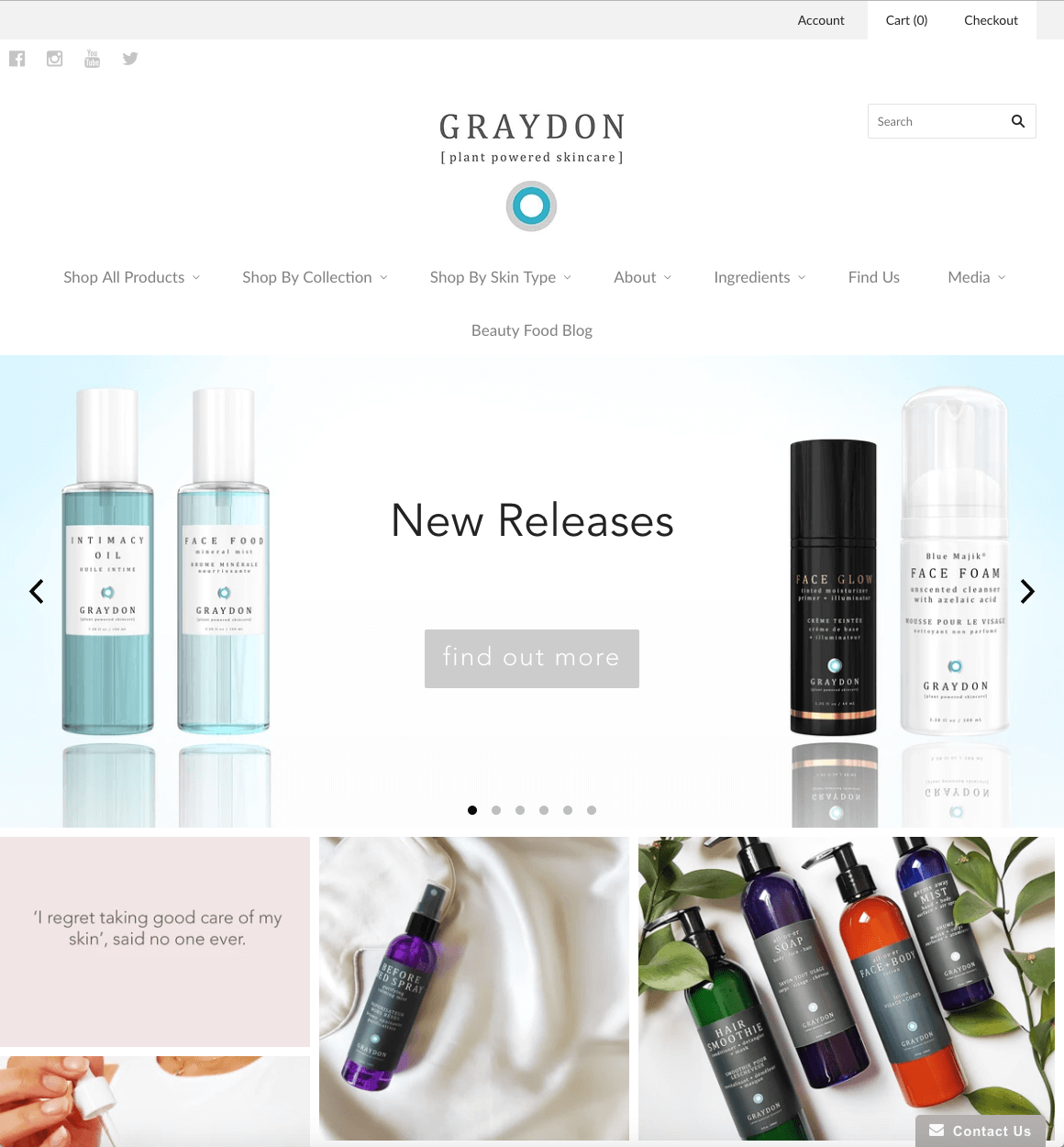 GraydonSkincare.com