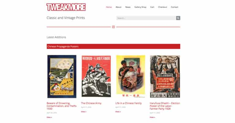 tweakmore.com Website